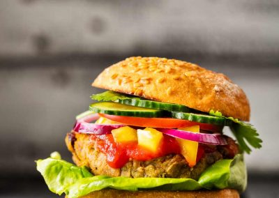 Vegan Burger step by step recipe